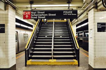 NY Schermerhorn-station, foto Ingrid Schtaz